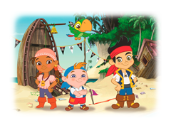 Jake en de Nooitgedachtland Piraten